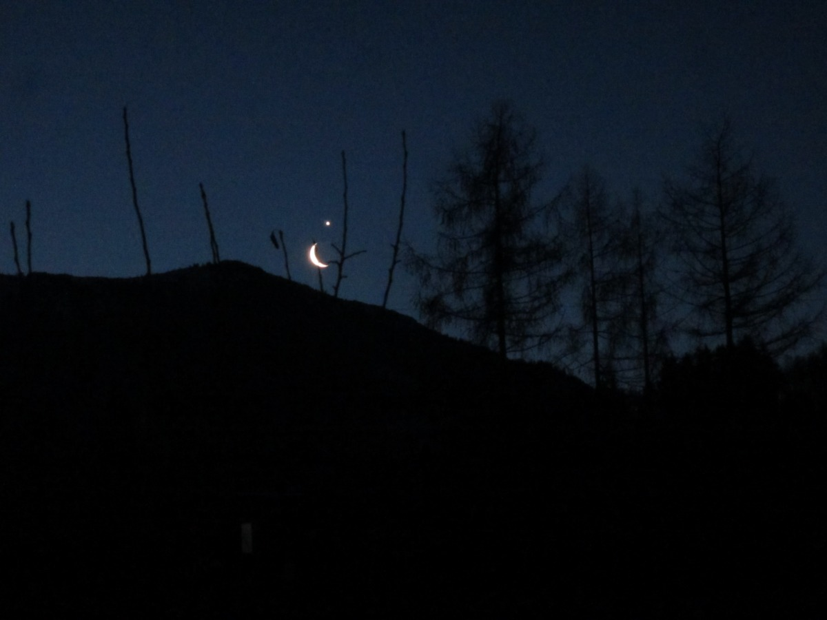 Venus And The Moon Dancing...