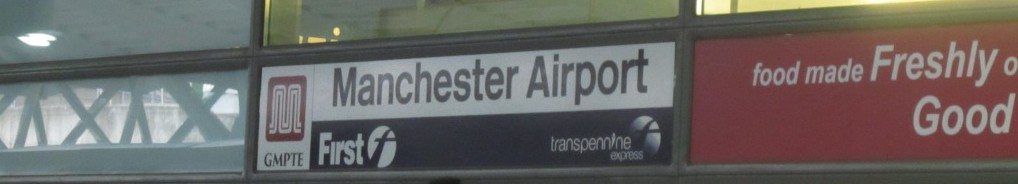Manchester Airport Rail Station.