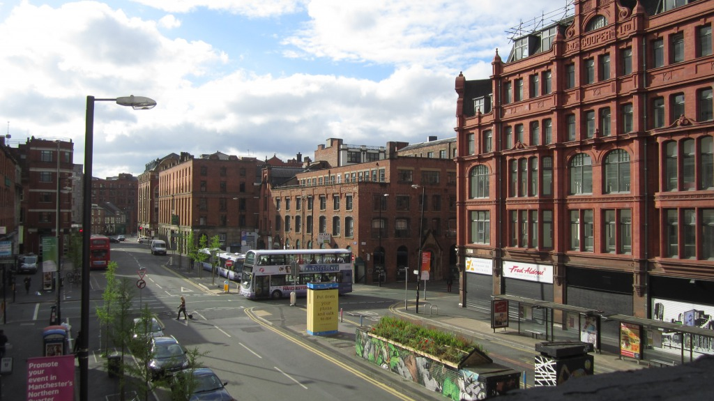 Manchester/ Hilton Street.