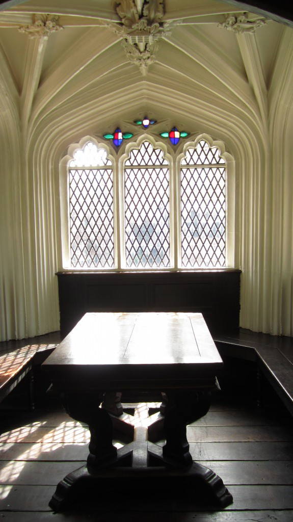 Study Table/  Chetham`s Library / Manchester