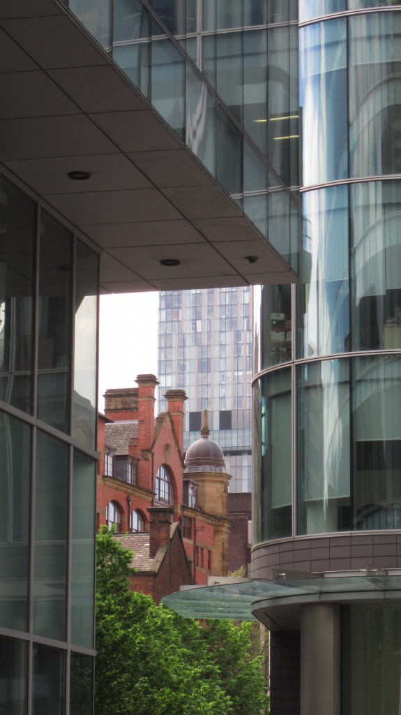 Old And New In Manchester.