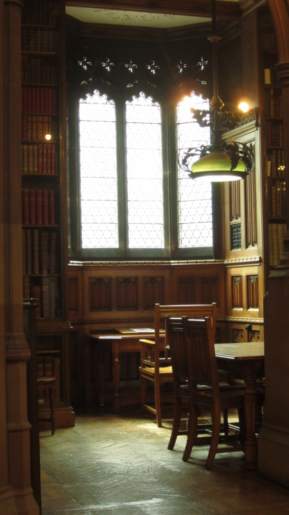 The Victorian Historic Reading Room.