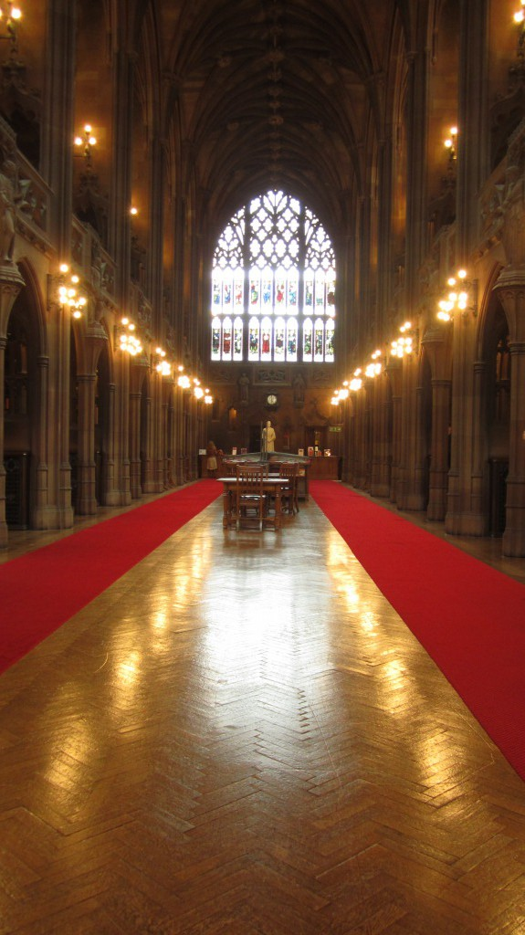 The John Rylands Library / Manchester.