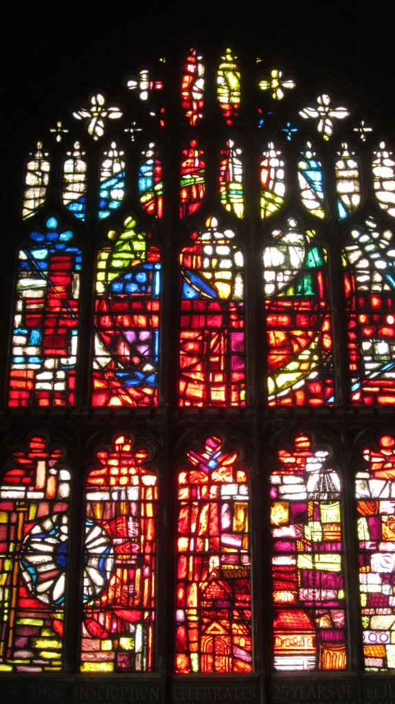 Staind-Glass Window/ Manchesters Cathedral.