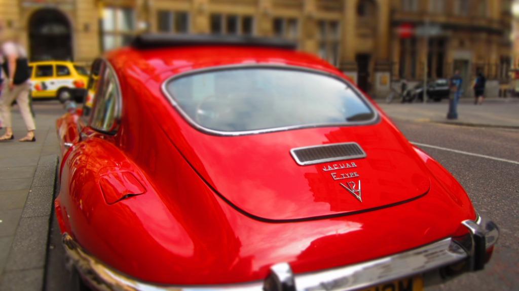 Jaguar In Manchester.