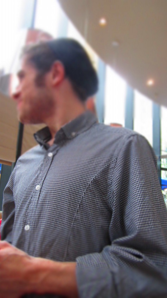 Jon In Carluccio´s In Manchester.