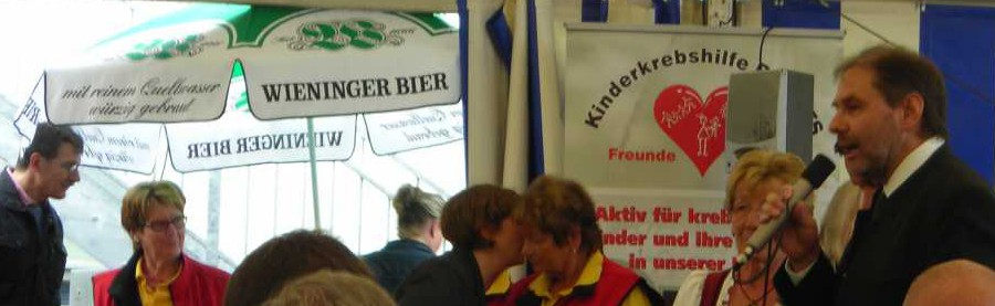 Vereinsheimeröffnungsfest von der Kinderkrebshilfe BGL und TS.