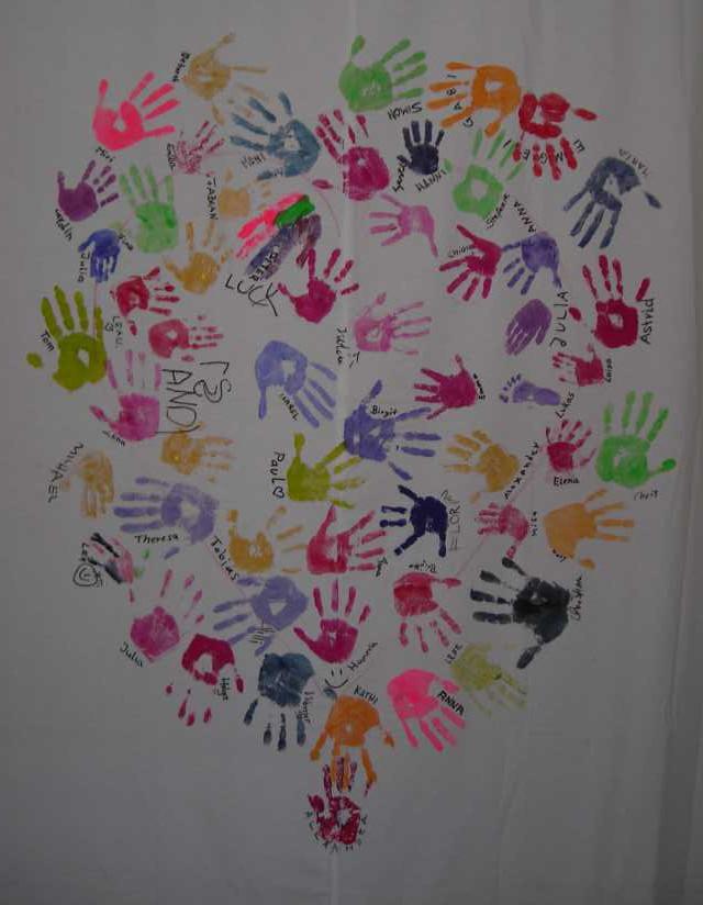 Kinderkrebshilfe BGL und TS Herz.