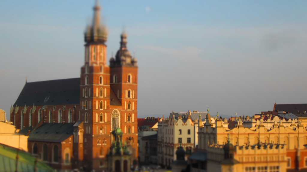 Panorama z tarasu Hotelu Stary.