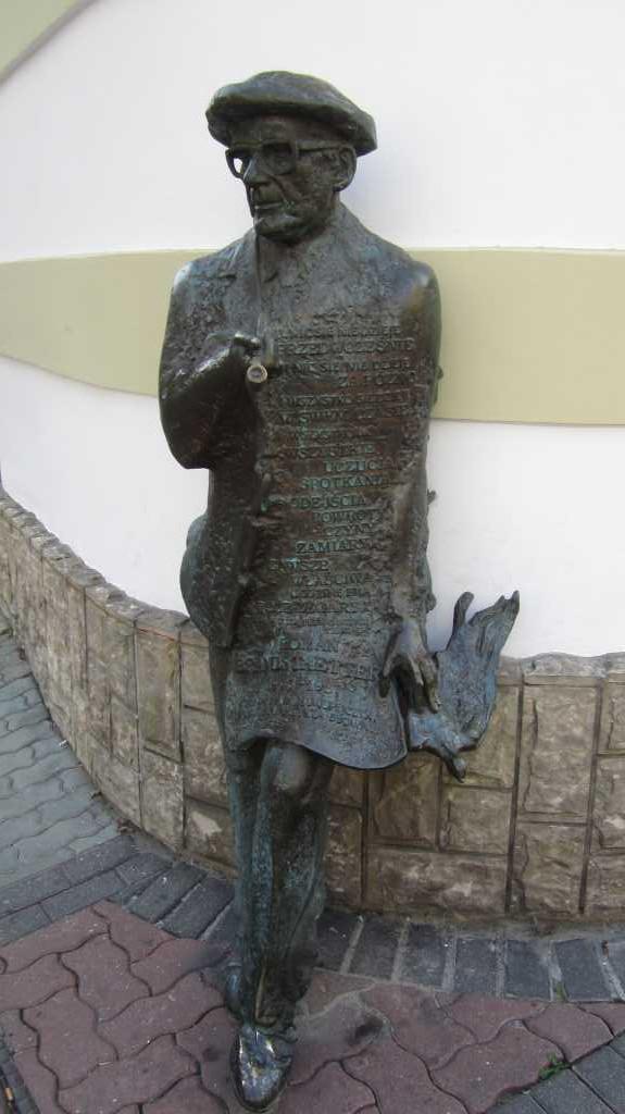 Roman Brandstaetter w Tarnowie.