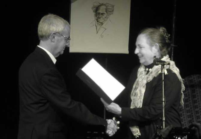 Piotr Szalsza nagradzany orderem prezydenta Austrii, 10.listopada 2014, za 50 lat pracy zawodowej.
