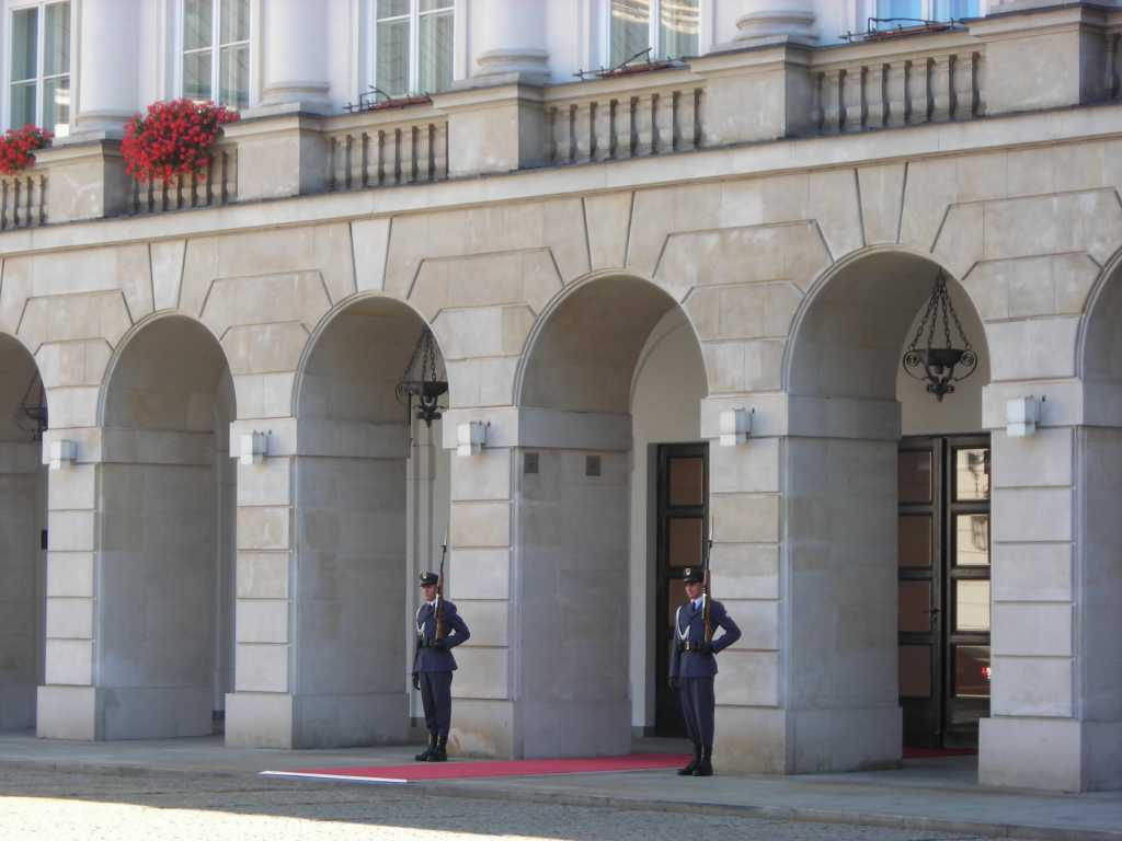 Polish President´s Palace In Warsaw.