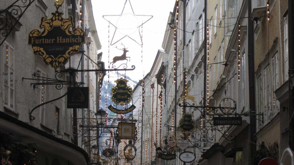 Christmas Time In Salzburg.