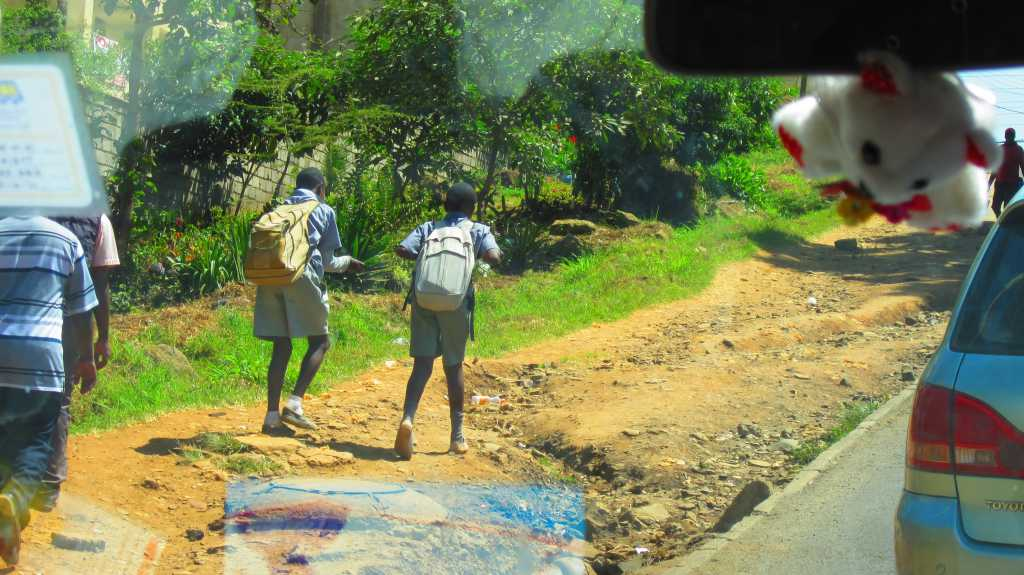 Kids In Nairobi, Kenya.