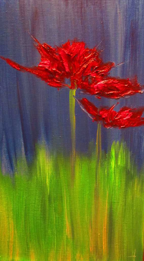 Flower In Red.