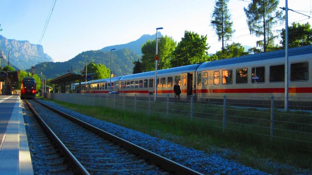 DB Bahnhof in Bad Reichenhall