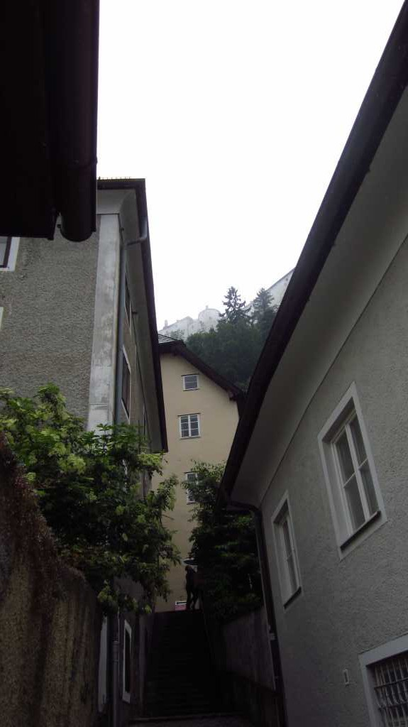 Wet Castle, Salzburg, Austria.