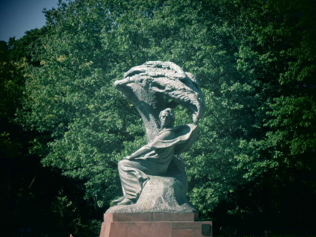 Chopin In Łazienki Park, Warsaw.