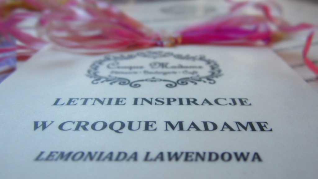 Letnie inspiracje Croque Madame, Warszawa.