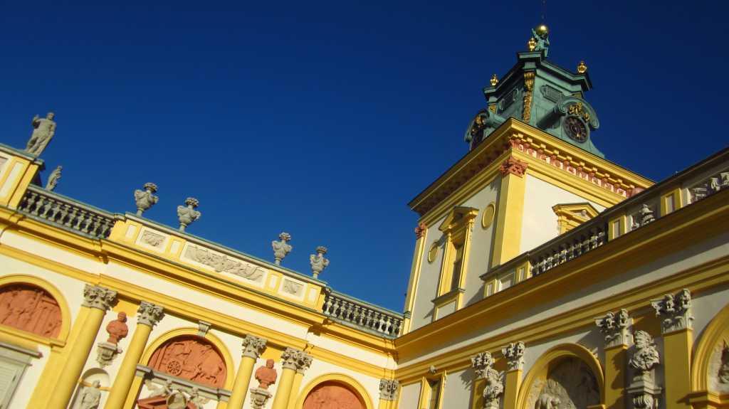 Palace In Wilanów, Warszawa.