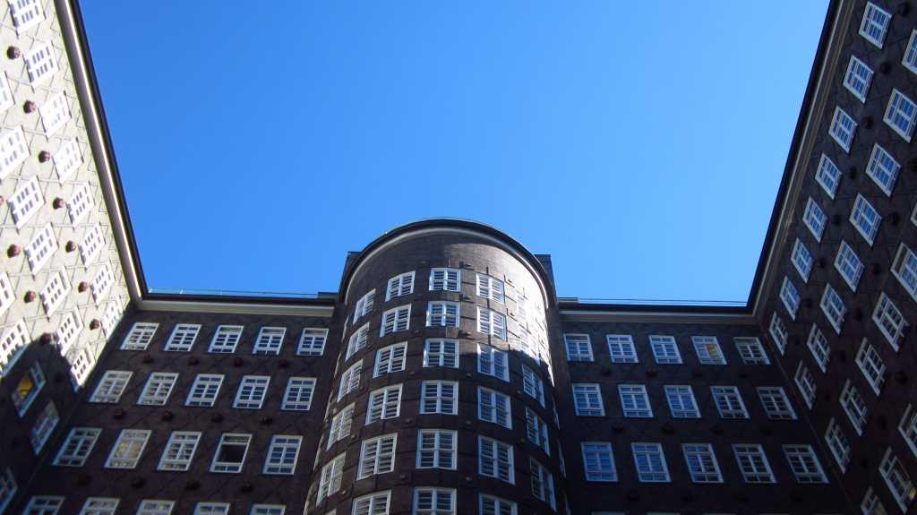 Altstadt, Hamburg, Deutschland.