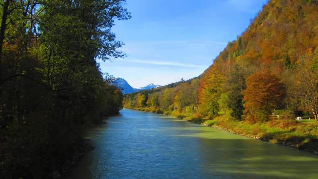 Herbst in Bayern.