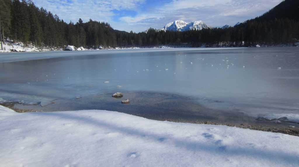 Winter at Hintersee