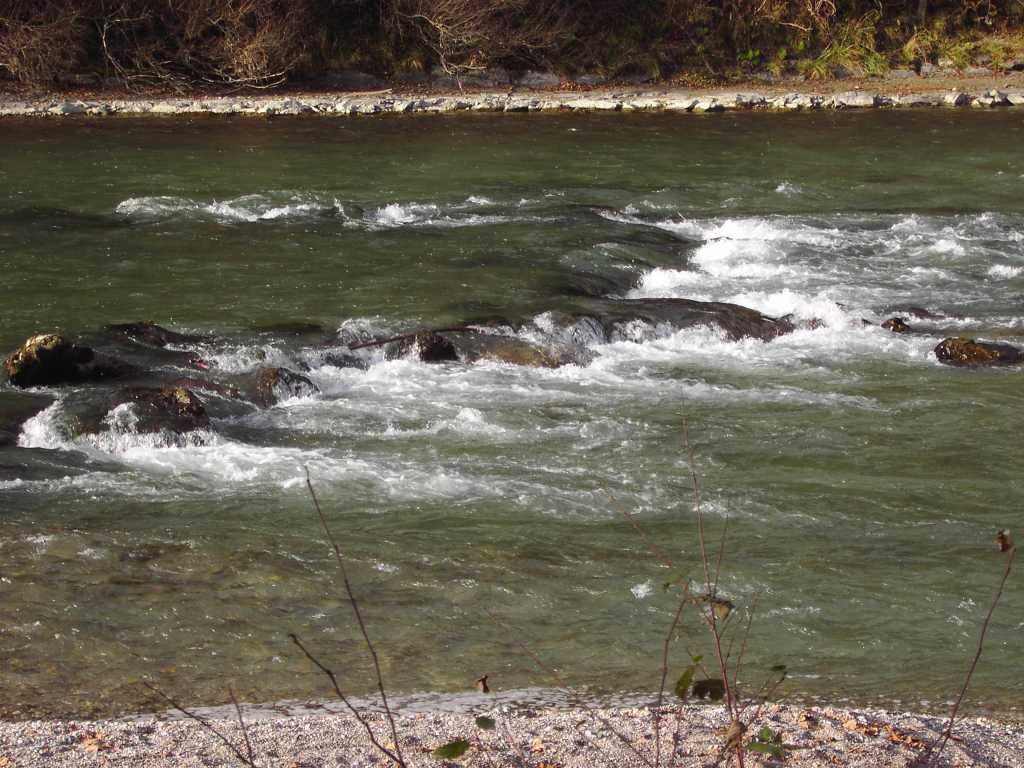 Im Fluss sein.