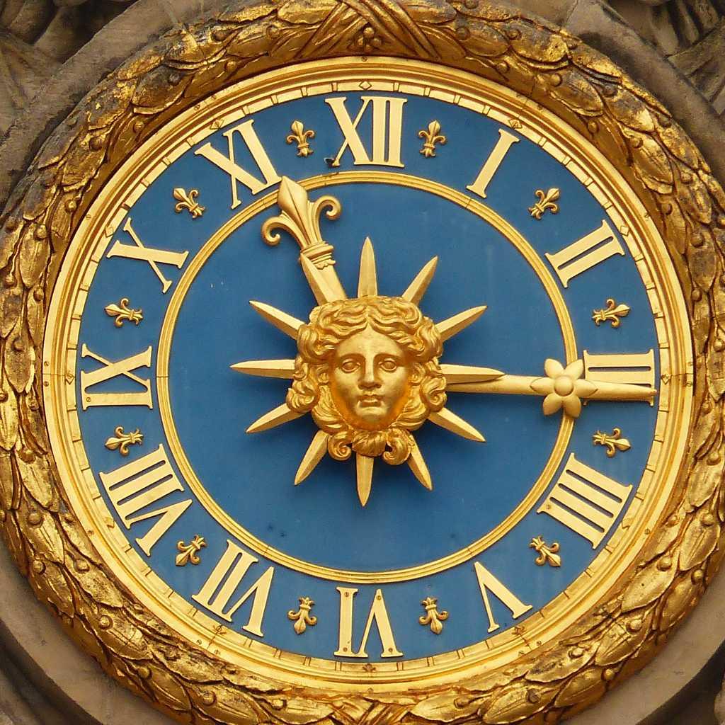 Versailles Uhr.